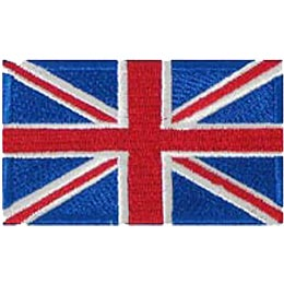 United Kingdom Flag (Iron On)