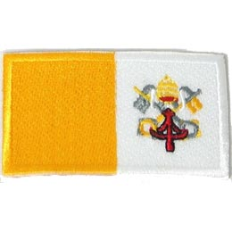 Vatican City Flag (Iron On)