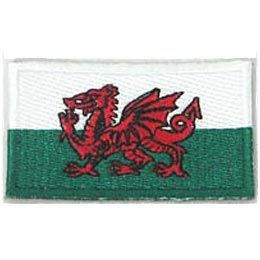 Wales Flag (Iron On)