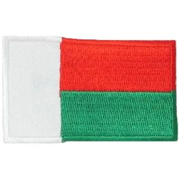 Madagascar Flag (Iron On)