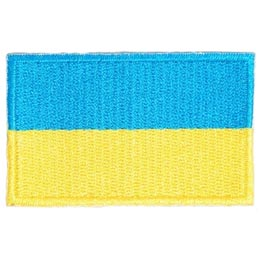 Ukraine Flag (Iron On)