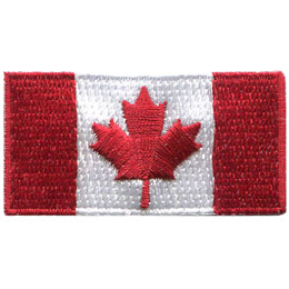 Canada Flag 2x1 (Iron On)