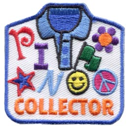 Pin Collector (Iron On)