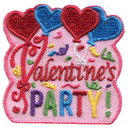 Valentine's Party (Iron On)