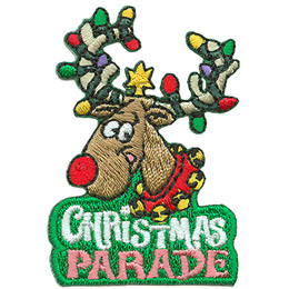 Christmas Parade - Reindeer (Iron On)