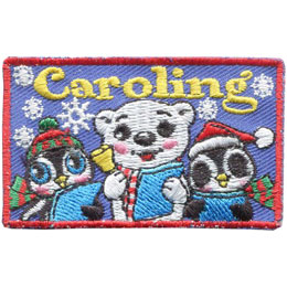 Caroling - Penguins (Iron On)