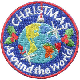 Christmas Around The World - Metallic (Iron On)