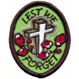 Lest We Forget (Iron On)
