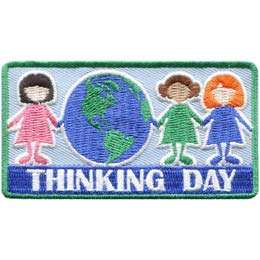 Thinking Day 3 Girls (Iron On) - limited quantity