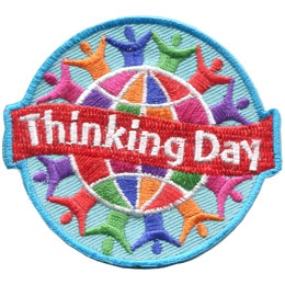 Thinking Day - Hands Joined (Iron On)