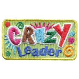 Crazy Leader (Iron On)