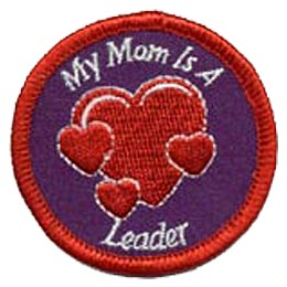 My Mom is a Leader - Hearts