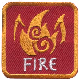 Fire Element (Iron On)