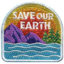 Save Our Earth (Iron On)