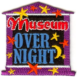 Museum Overnight (Iron On)