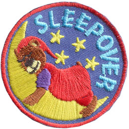 Sleepover Bear (Iron On)