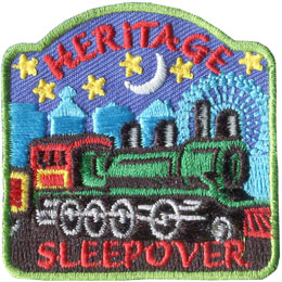 Heritage Sleepover (Iron On)