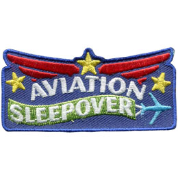 Aviation Sleepover (Iron On)