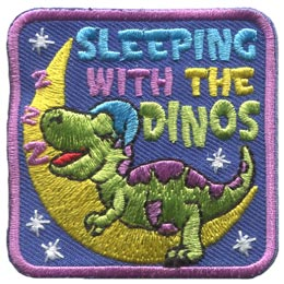 Sleeping With The Dinos (Iron On)
