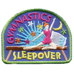 Gymnastics Sleepover (Iron On)