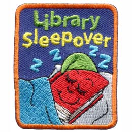 Library Sleepover (Iron On)