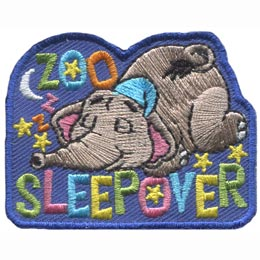 Zoo Sleepover (Iron On)