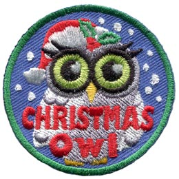 Christmas Owl (Iron On)