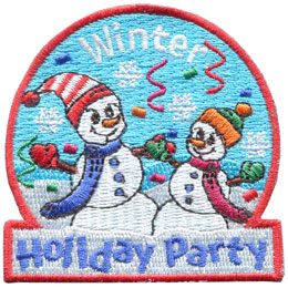 Winter Holiday Party (Iron On)