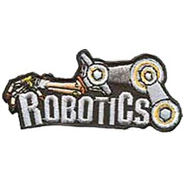 Robotics Embroidered Patch By E Patches Crests