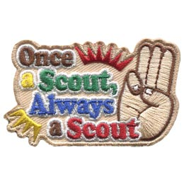 Once A Scout Always A Scout