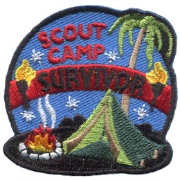 Scout Camp Survivor (Iron On)