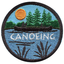 Canoeing (Iron On)