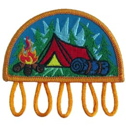 Camping Charm Patch (Plastic)