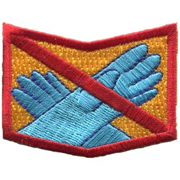 Allergy, Allergen, Allergies, Shock, Latex, Natural, Rubber, Peanuts, Nuts, Diary, Eggs, Milk, Fish, Shellfish, Patch, Embroidered Patch, Merit Badge, Badge, Emblem, Iron On, Iron-On, Crest, Insignia