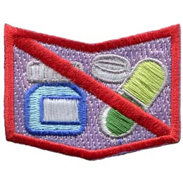 Allergy, Allergen, Allergies, Shock, Peanuts, Nuts, Diary, Eggs, Milk, Fish, Shellfish, Medicine, Bees, Dust, Patch, Embroidered Patch, Merit Badge, Badge, Emblem, Iron On, Iron-On, Crest, Insignia