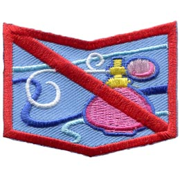 Allergy, Allergen, Allergies, Shock, Peanuts, Nuts, Diary, Eggs, Milk, Fish, Shellfish, Perfume, Fragrance, Bee, Patch, Embroidered Patch, Merit Badge, Badge, Emblem, Iron On, Iron-On, Crest, Insignia