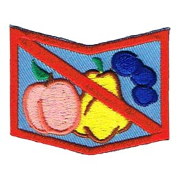 Allergy, Allergen, Allergies, Shock, Peanuts, Nuts, Diary, Eggs, Milk, Fish, Shellfish, Bees, Fruit, Patch, Embroidered Patch, Merit Badge, Badge, Emblem, Iron On, Iron-On, Crest, Insignia