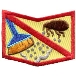 Allergy, Allergen, Allergies, Shock, Peanuts, Nuts, Diary, Eggs, Milk, Fish, Shellfish, Bees, Dust, Mites, Patch, Embroidered Patch, Merit Badge, Badge, Emblem, Iron On, Iron-On, Crest, Insignia