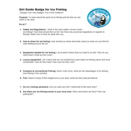 Ice Fishing Challenge document image
